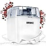 Duronic IM540 Heladera con bol de congelación de 1.5L para hacer postres caseros como helados, sorbete y...