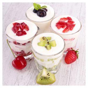 como hacer yogurt con kéfir