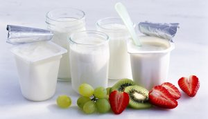 yogurt descremado